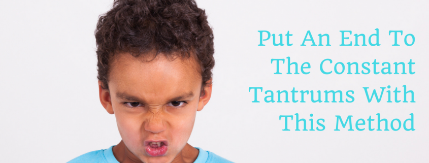 Angry looking child with tantrum, ADHD, stop, avoic